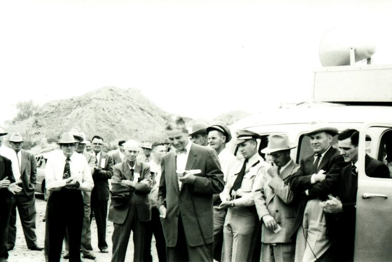Canadian River Bridge Dedication 1955 (2)