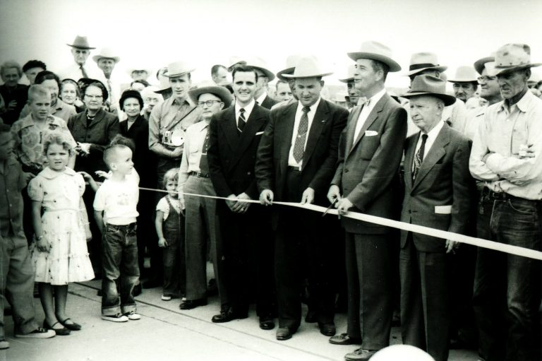 Canadian River Bridge Dedication 1955 (6)