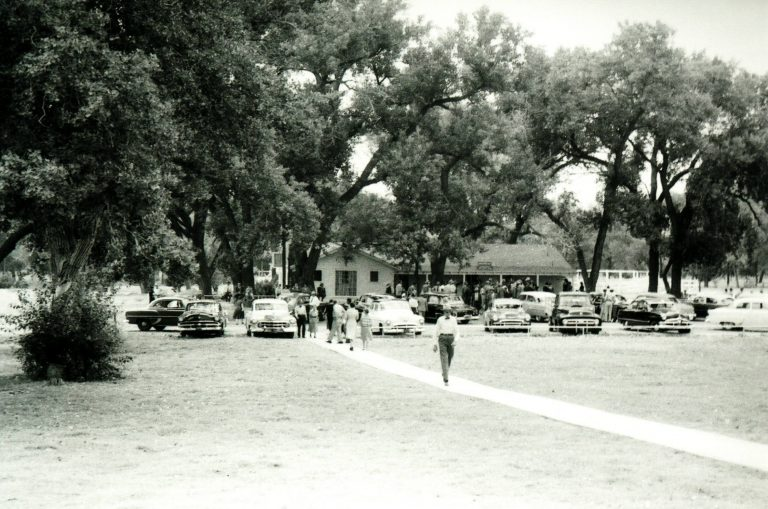 Canadian River Bridge Dedication (Boys Ranch Headquarters) 1955 (1)